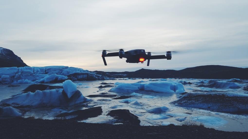 Drone videos in marketing